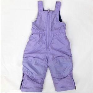 LL Bean ❄️ Purple Snow Pants VGUC -  2T